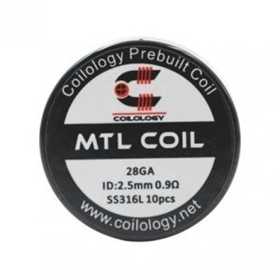 Picture of Coilology MTL SS316L 0,9ohm 10pcs