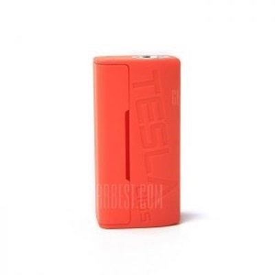 Picture of Tesla Wye 85W TC Box  Mod Orange