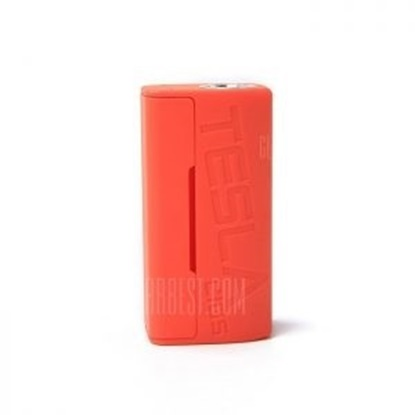 Picture of Tesla Wye 85W TC Box  Mod Orange