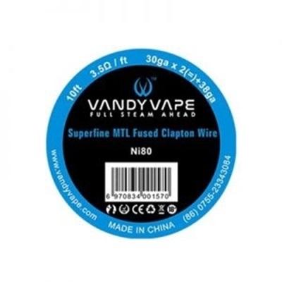 Picture of Vandy Vape Superfine MTL Fused Clapton Vape Wire Ni80 30ga*2+38ga