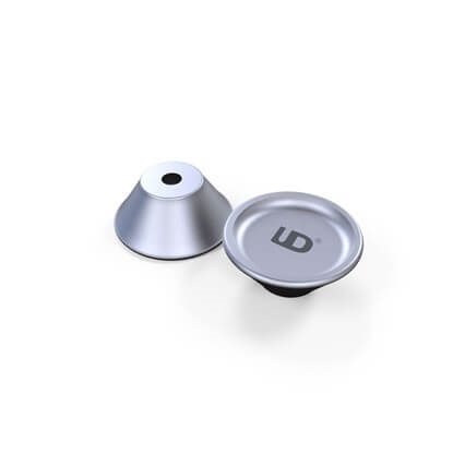 Picture of Aluminium Base For Atomizers 510 Silver
