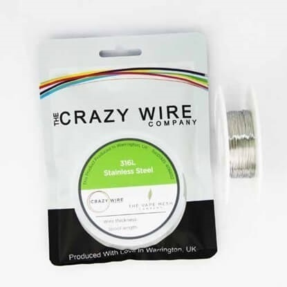 Picture of Crazy Wire SS316L 0,4mm 10m
