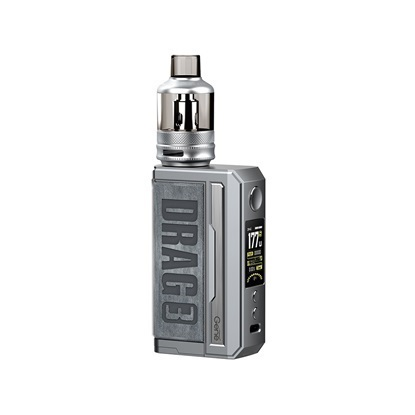 Picture of Voopoo DRAG 3 Box Mod Κit 177W Smokey Grey