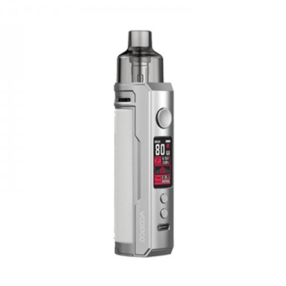 Picture of VooPoo Drag X Pod Kit 4.5ml Silver + White