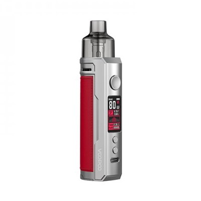 Picture of VooPoo Drag X Pod Kit 4.5ml Silver + Red