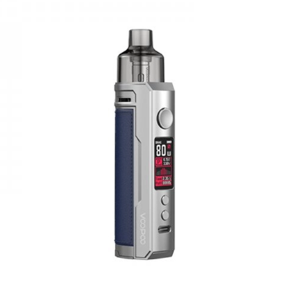 Picture of VooPoo Drag X Pod Kit 4.5ml Silver + Blue